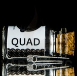 Quad COIL BY VAPECUSTOM WORKSHOP