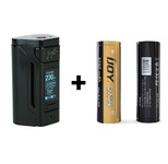 REULEAUX RX2 WITH DUAL 21700 BATTERIES BY WISMEC